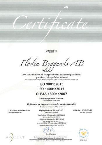 Certifikat-flodens
